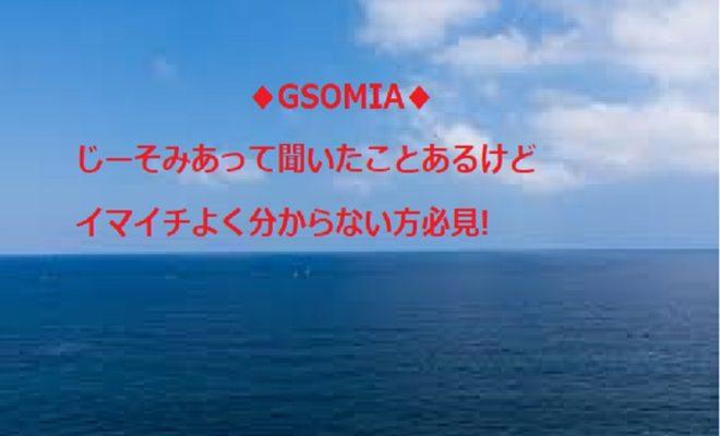 GSOMIA ジーソミア